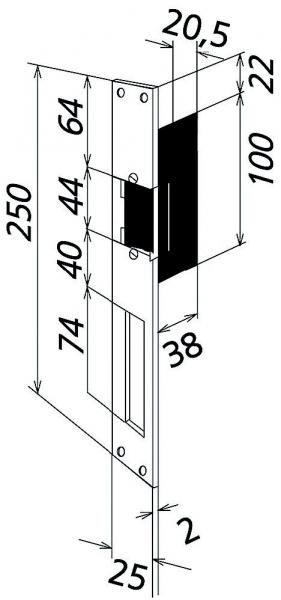 siedle t 626 0 r elektrischer t r ffner f r din rechts aufgehende t r mit r ckm online kaufen. Black Bedroom Furniture Sets. Home Design Ideas