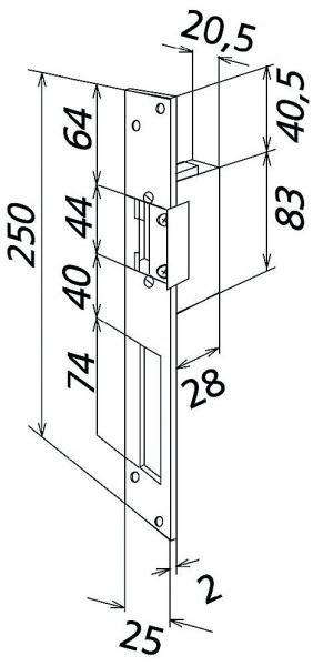 siedle t 625 0 r elektrischer t r ffner f r din rechts. Black Bedroom Furniture Sets. Home Design Ideas