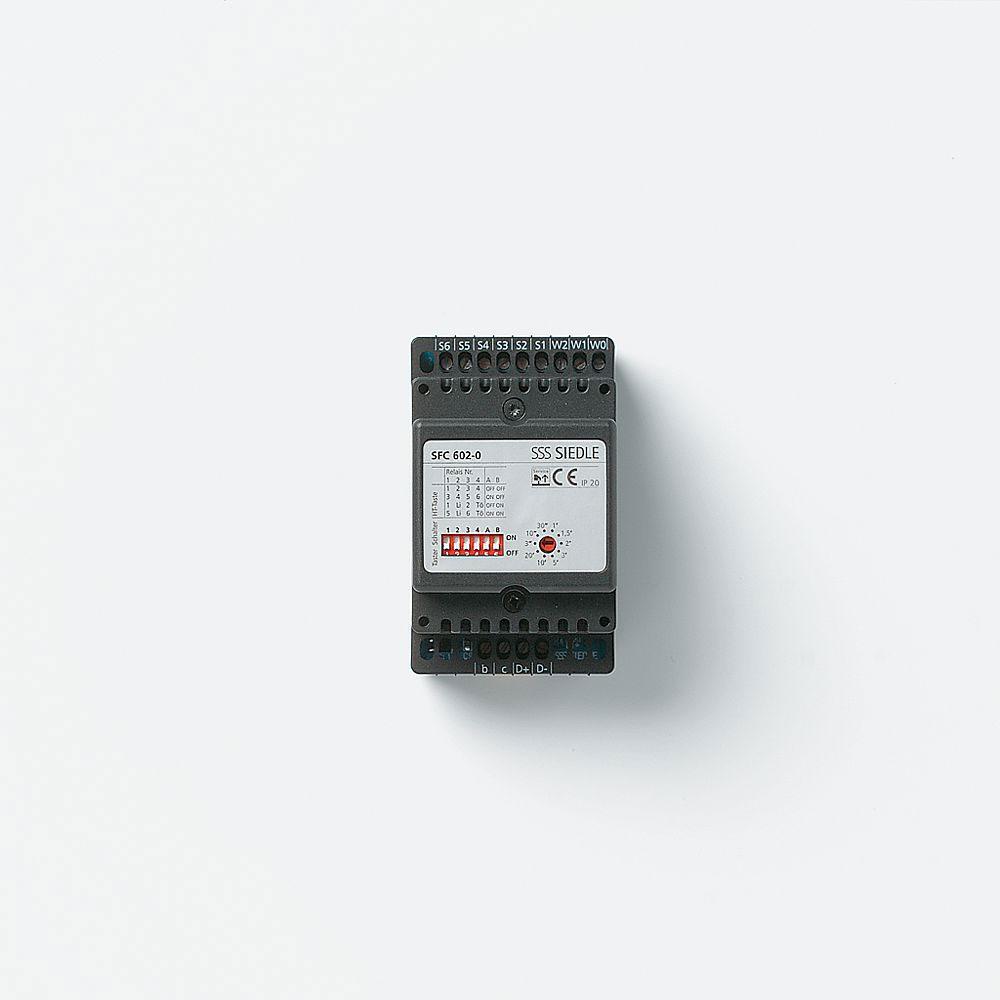 siedle sfc 602 0 schalt fernsteuer cont roller im 3 raster schalttafelgeh use online kaufen im. Black Bedroom Furniture Sets. Home Design Ideas