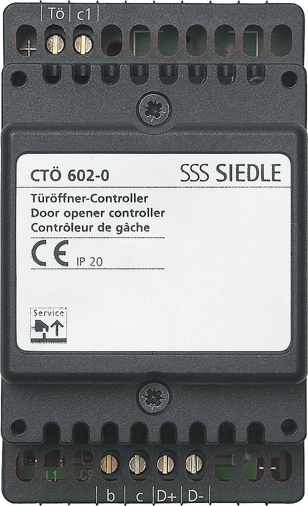 Siedle CTÖ 602-0 Controller-Türöffner im 3-Raster-Gehäuse online ...