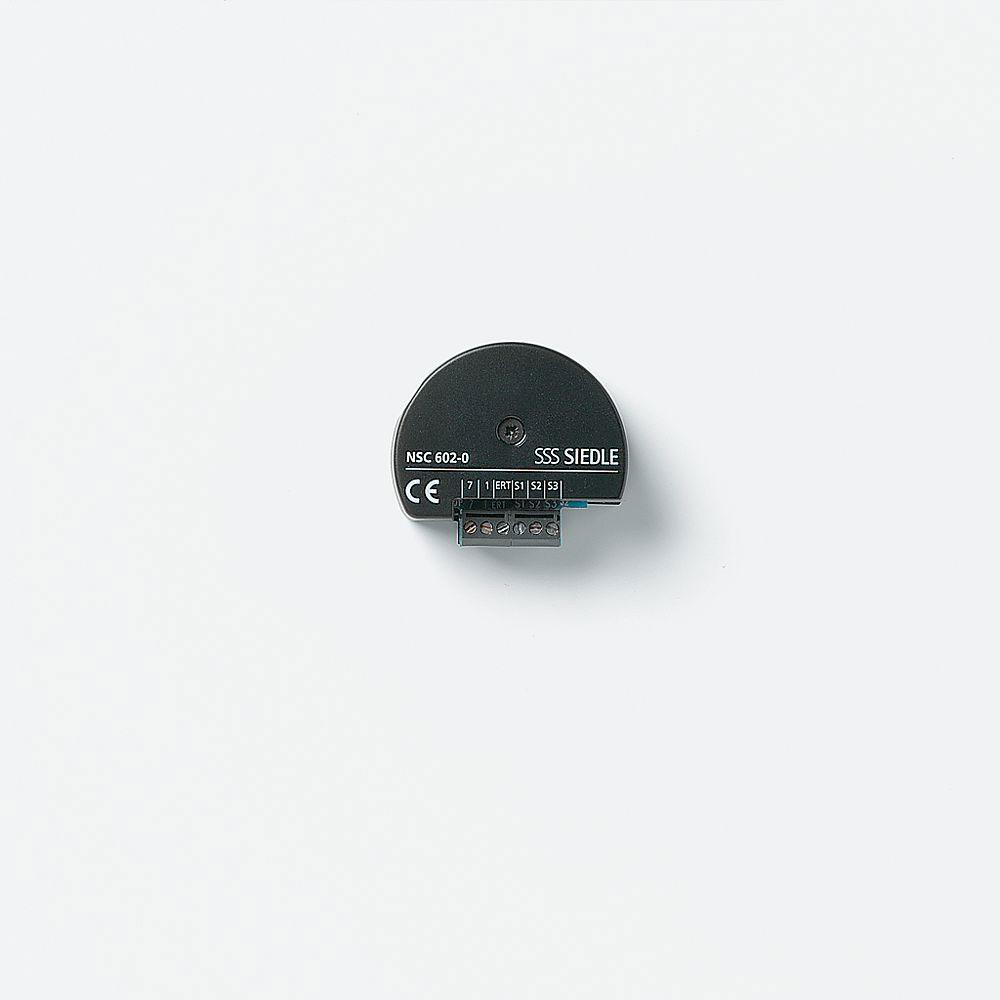 siedle nsc 602 0 nebensignal controller f r t rruf online kaufen im voltus elektro shop. Black Bedroom Furniture Sets. Home Design Ideas
