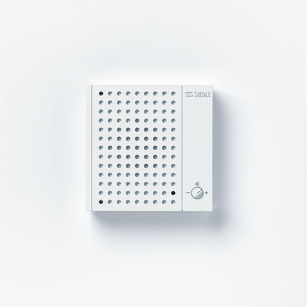 siedle ns 711 01 w nebensignalger t in aufputz flachbauweise mit lautsprecher online kaufen im. Black Bedroom Furniture Sets. Home Design Ideas