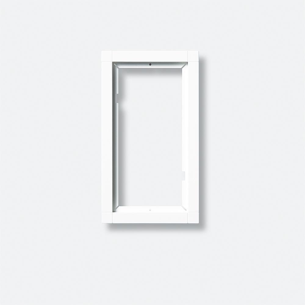 siedle kr 611 2 1 0 dg kombirahmen dunkelgrau glimmer. Black Bedroom Furniture Sets. Home Design Ideas