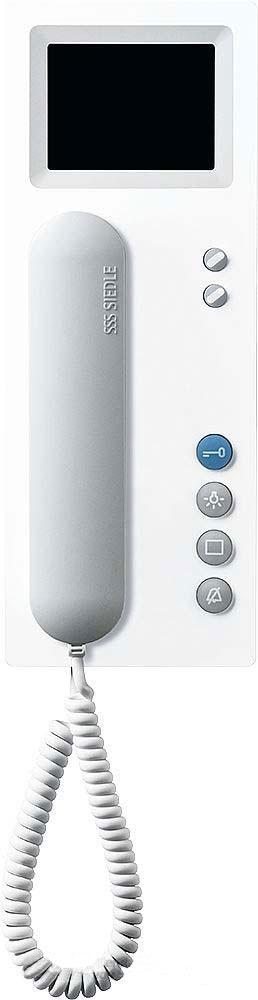 siedle btsv 850 03 w bus telefon standard mit farbmonitor. Black Bedroom Furniture Sets. Home Design Ideas