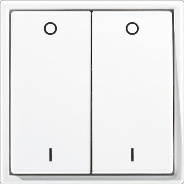 thermokon 435482 funkschalter 4 kanal jalousie inkl rahmen ls990 wei online kaufen im voltus. Black Bedroom Furniture Sets. Home Design Ideas
