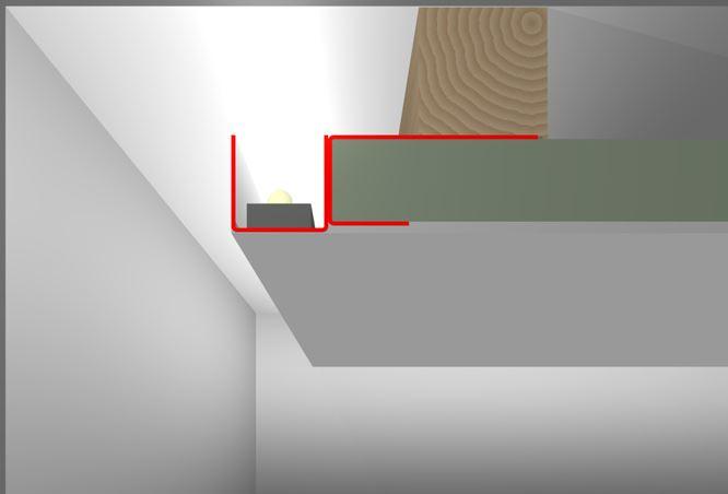 led profilelement dsl zinkblechprofil sta 1203. Black Bedroom Furniture Sets. Home Design Ideas