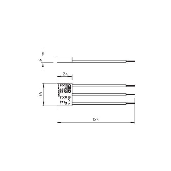 obo bettermann 5092451 sm a berspannungsschutz h chste. Black Bedroom Furniture Sets. Home Design Ideas