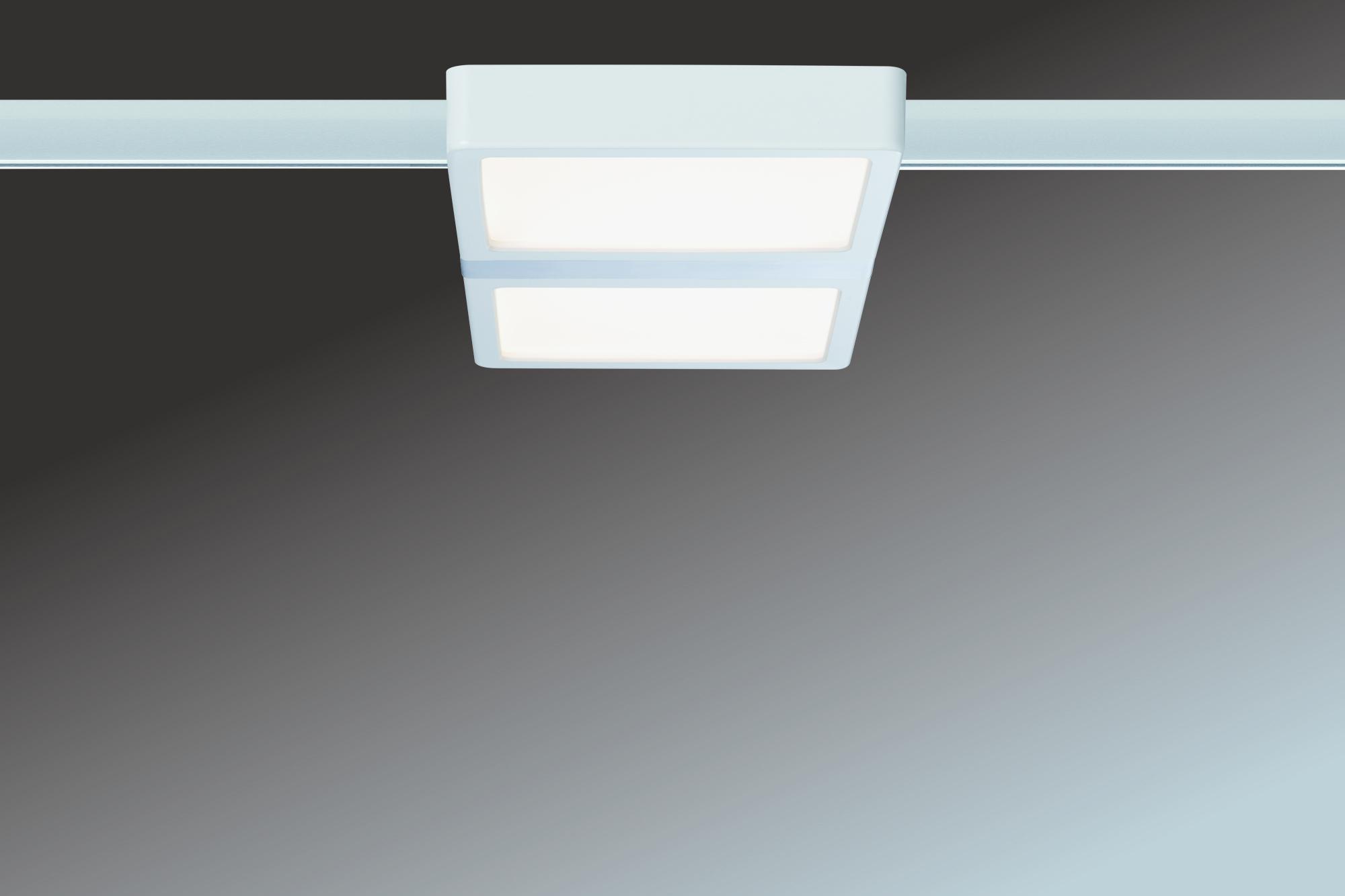 paulmann urail led panel double 9w 230v 17va 2700k wei online kaufen im voltus. Black Bedroom Furniture Sets. Home Design Ideas