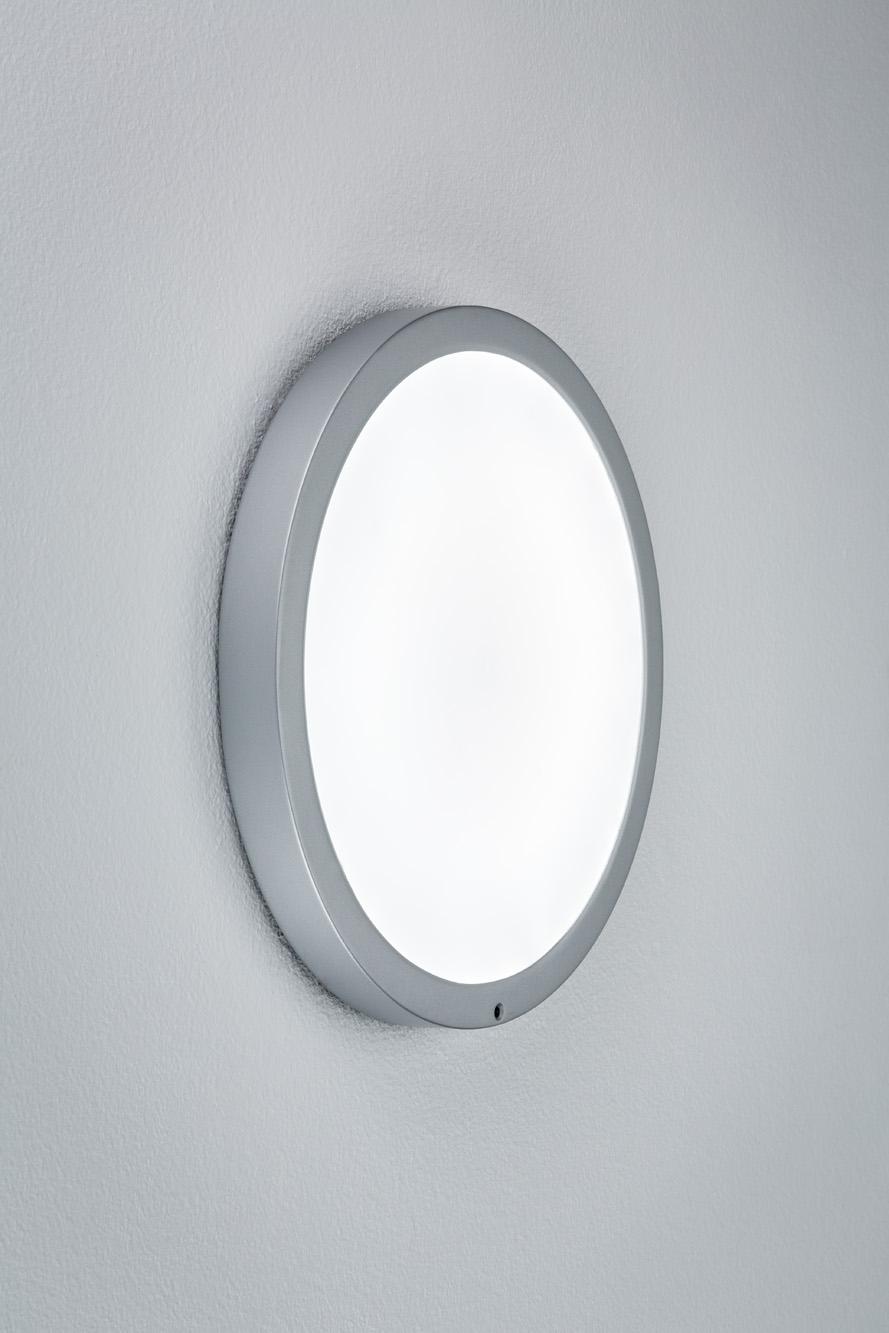 paulmann deckenleuchte smooth led panel chrom matt wei kunststoff 1 x 7 5w online. Black Bedroom Furniture Sets. Home Design Ideas