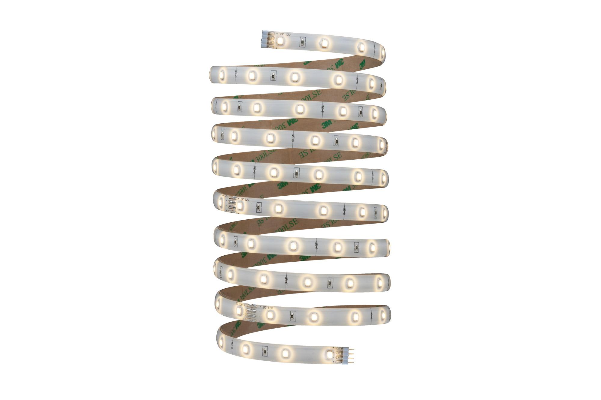 paulmann yourled stripe basisset 3 m klar beschichtet farbe wei lichtfarbe warmwei. Black Bedroom Furniture Sets. Home Design Ideas