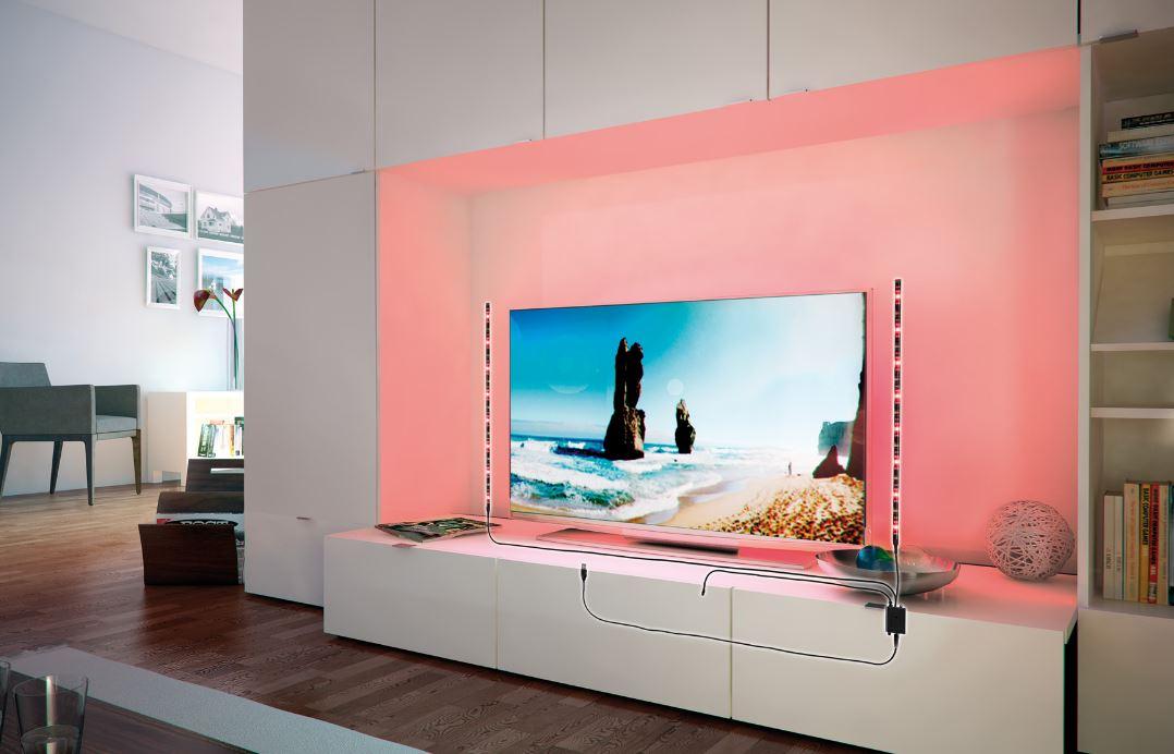 paulmann led strip mit usb anschluss und farbwechsel 2 5w rgb online kaufen im voltus. Black Bedroom Furniture Sets. Home Design Ideas