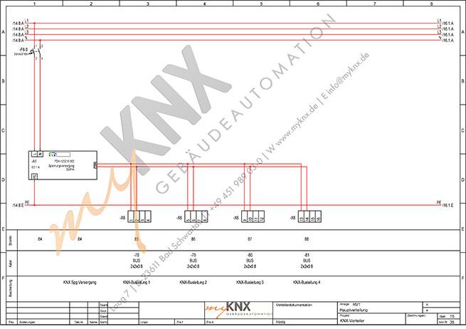 myKNX Elektroverteilerplanung für die intelligente Haussteuerung ...