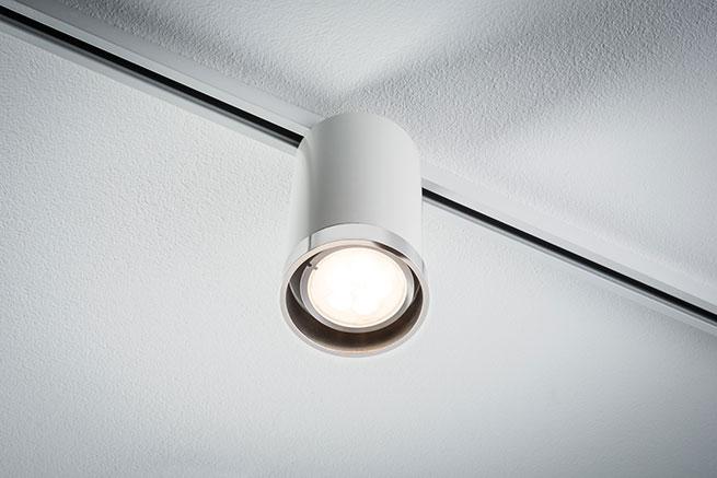 paulmann urail led spot tube 1x6 5 w wei chrom online kaufen im voltus elektro shop. Black Bedroom Furniture Sets. Home Design Ideas