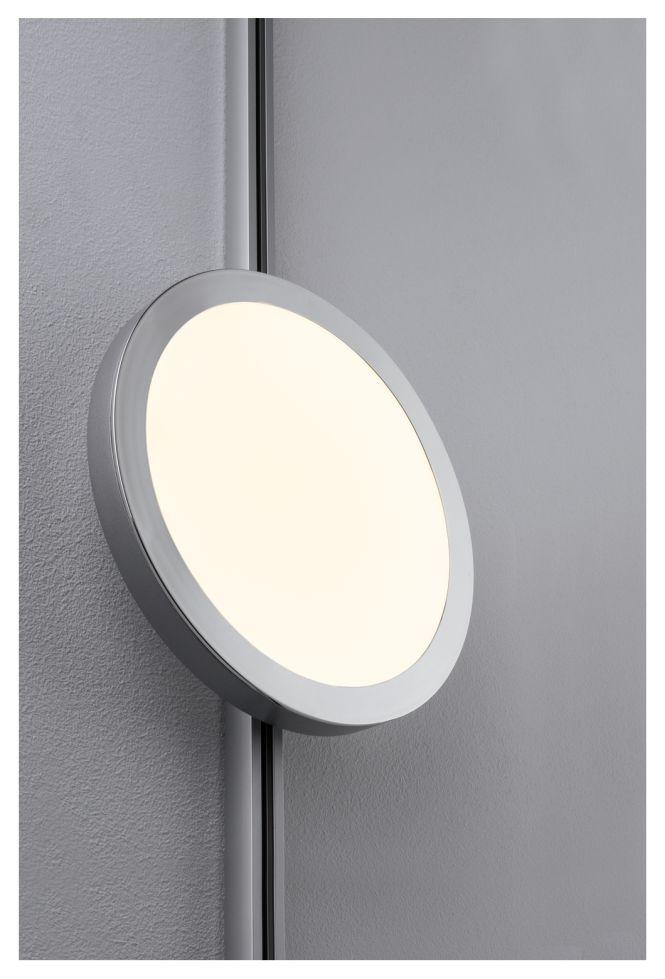 paulmann urail led panel ring 8w 230v 15va 2700k chrom matt online kaufen im voltus. Black Bedroom Furniture Sets. Home Design Ideas