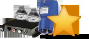 Elektromaterial, LED und KNX
